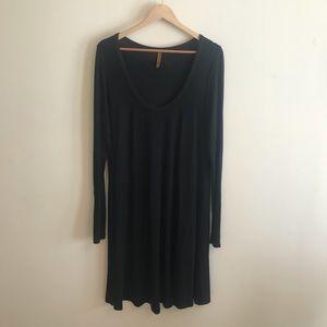 Rachel Pally Long Sleeve Black Dress